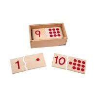 Puzzle des nombres 1-10