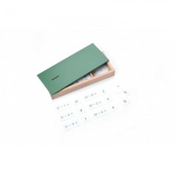 Boîte des équations de la soustraction