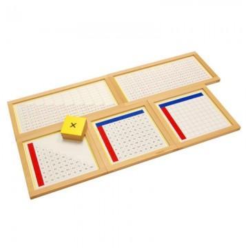 Tableaux de mémorisation de la multiplication