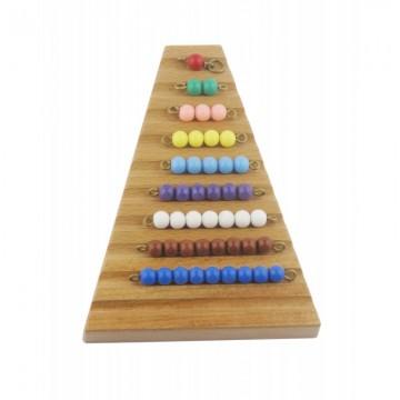 Support pour escalier de perles de 1 à 9