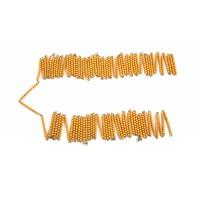 Chaîne de 1000 perles dorées