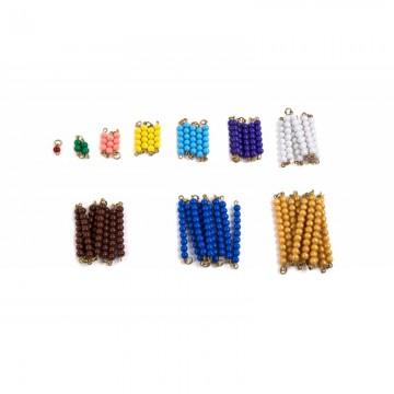 Petites chaînes colorées