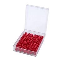 100 perles rouges