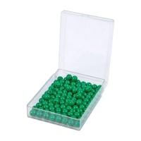 100 perles vertes