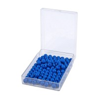 100 perles bleues
