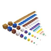 Matériel complet des perles colorées