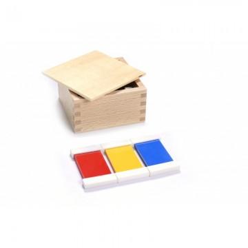 1ère boîte de tablettes de couleur