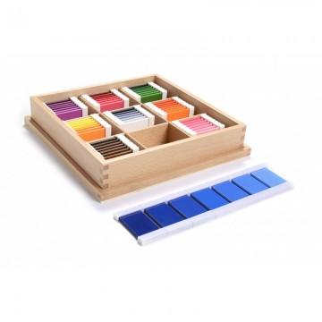 3ème boîte de tablettes de couleur