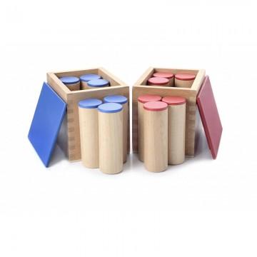 Boîtes à sons en hêtre