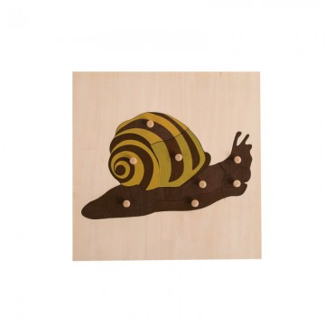 Puzzle de l'escargot