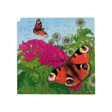 Puzzle cycle de vie du papillon monarque