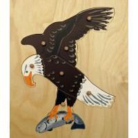 Puzzle de l'aigle