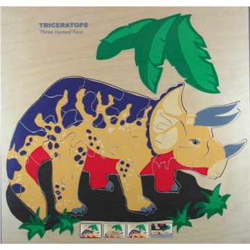 Puzzle du Tricératops