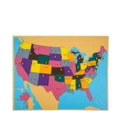 Puzzle des Etats-Unis
