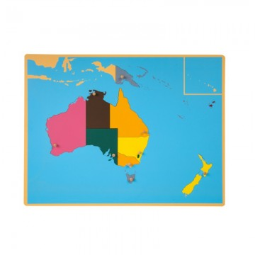 Puzzle de l'Australie