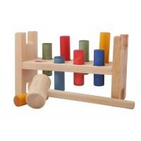Cylindres colorés à marteler
