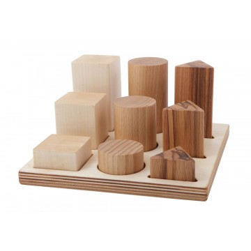 Encastrements grand modèle-bois naturel