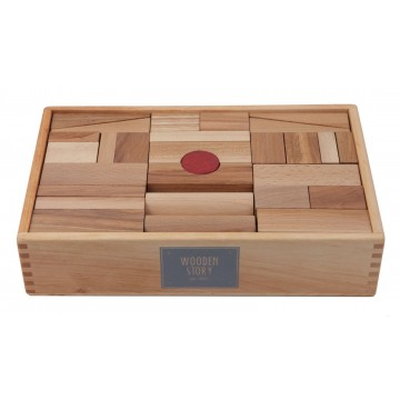 63 blocs en bois XL