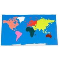 Carte géante du Monde