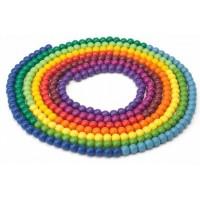 Collier de l'année - 365 perles en bois