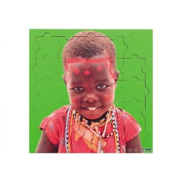 """Puzzle """"enfants du Monde""""-Bopoi"""