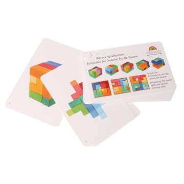 """Carnet de modèles pour le puzzle """"carré"""""""
