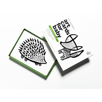 """""""Art cards"""" pour bébés-collection Forêt"""