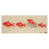"Encastrements ""poissons rouges"""