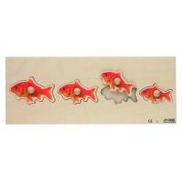 """Encastrements """"poissons rouges"""""""