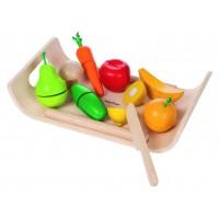 Fruits et légumes à découper Plan Toys