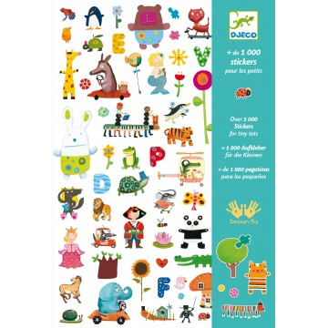 1000 stickers pour les petits
