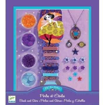Bijoux à créer : perles et étoiles...