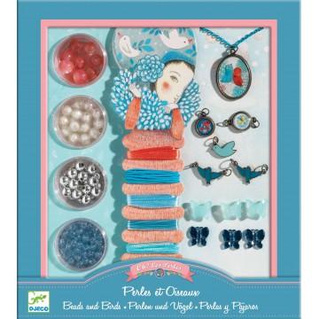 Bijoux à créer : perles et oiseaux...