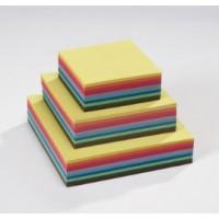 Papier coloré carré 16*16 cm : 70g