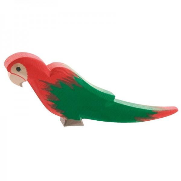Perroquet Rouge Figurines Ostheimer Tangram Montessori