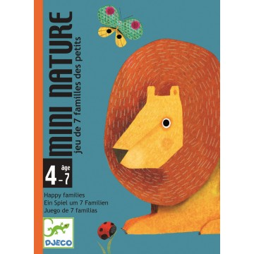 Jeu de cartes : Mini nature