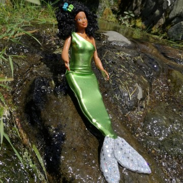 Tenue pour Lammily : sirène verte