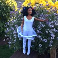 Tenue pour Lammily : ballerine blanche