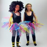 Tenue pour Lammily : ballerine noire