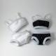 Sous-vêtements pour Lammily : 2 ensembles
