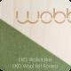 Planche Wobbel naturelle avec feutrine