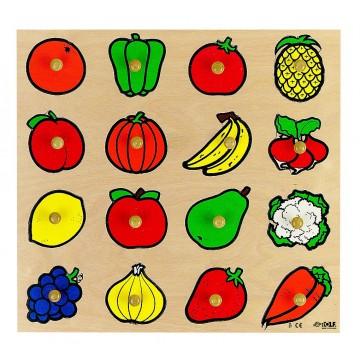 """Encastrements """"fruits et légumes"""""""