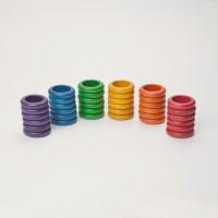 Loose parts : 36 anneaux