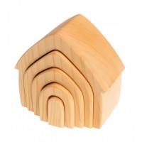 Maisons bois naturel