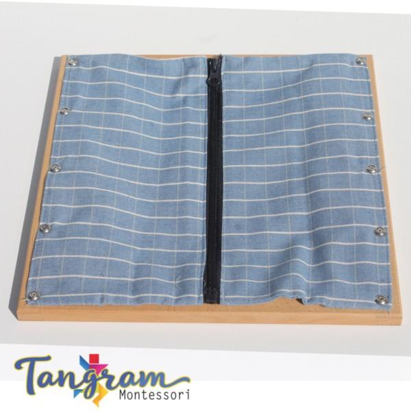 cadre d 39 habillage de la fermeture clair de blouson. Black Bedroom Furniture Sets. Home Design Ideas