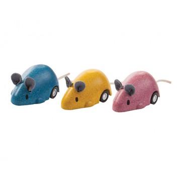1 souris à rétro-friction Plan Toys