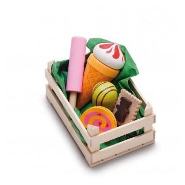 Assortiment de sucreries, petit modèle