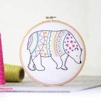 "Kit de broderie ""Ours"""