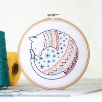 "Kit de broderie ""Chat"""