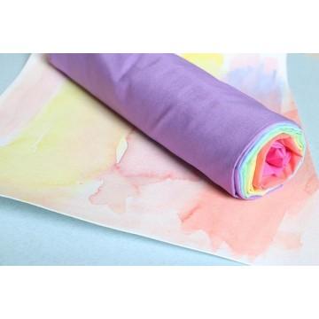 Tissu en coton Sarah's silk arc en ciel